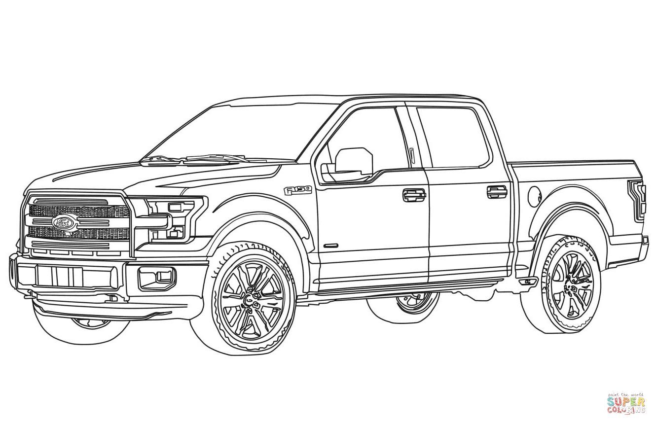 http://colorings.co/ford-coloring-pages/ | Colorings | Pinterest