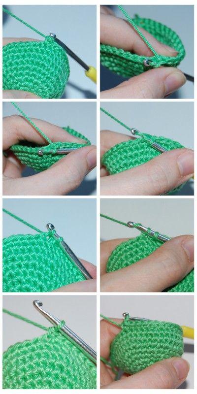 Tutorial Onzichtbaar Minderen En Meerderen Crochet