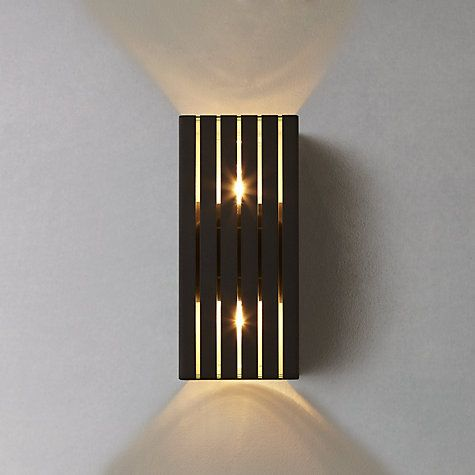 John Lewis Zurich Outdoor Wall Light Living Room