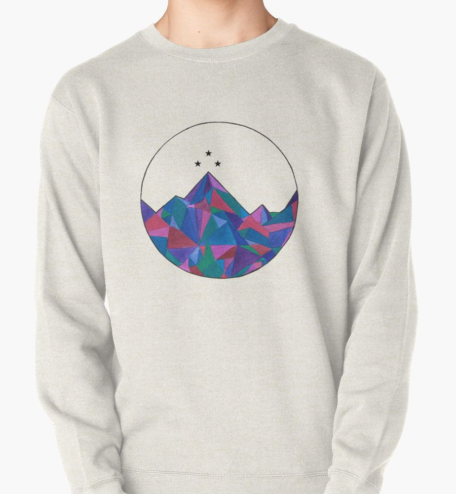 Night Court Watercolor Pullover Sweatshirt Graphic Sweatshirt