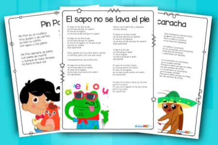 Canciones Infantiles En Español Y Musica Infantil Gratis Canciones Infantiles Musica Infantil Letras De Canciones Infantiles