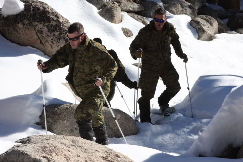 RECON MARINERS MOUTAIN TRAINING