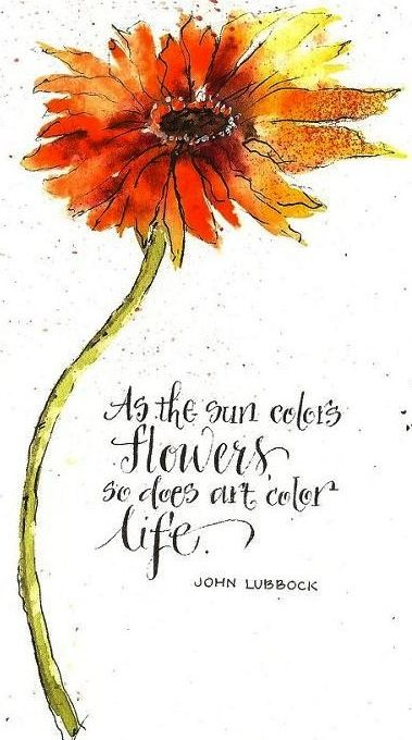 Flower And Art Quote To Inspire Creativity Art Art Quotes Artist Quotes