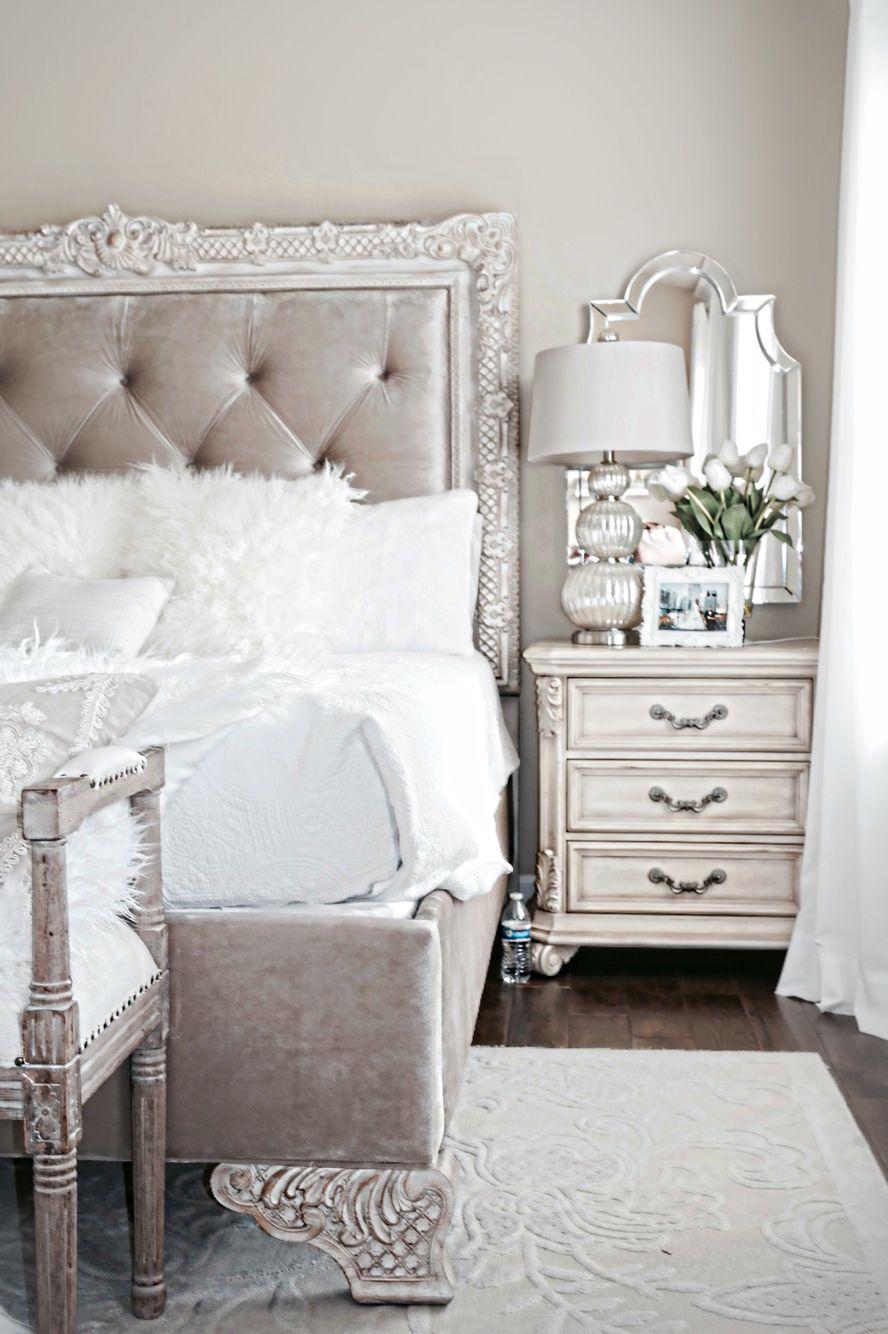 Bedroom Nightstand Light Mirror Behind The Light Bedroom Night