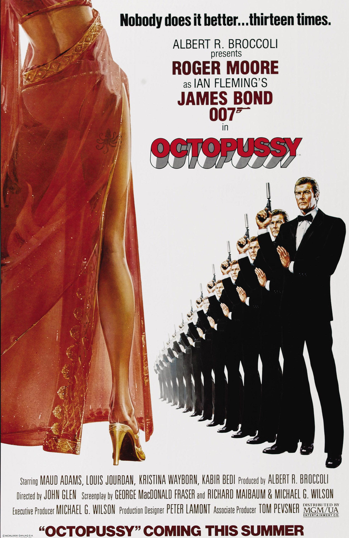 Octopussy (1983) advance   James bond movie posters, James