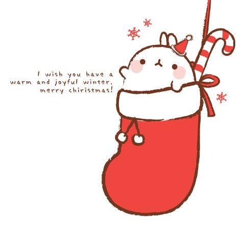 molang christmas | Christmas | Kawaii drawings, Cute ...