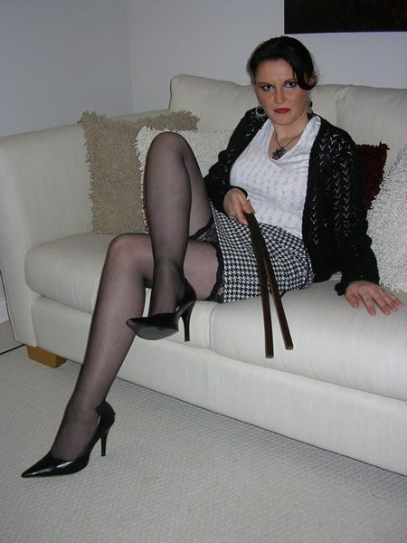 First proper spanking pantyhose tights