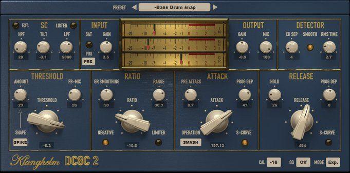 Klanghelm DC8C 2 - another vst compressor  Awesome sound