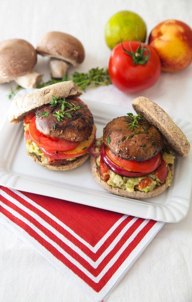 Veganer Portobello Burger - foodtasticfoodtastic