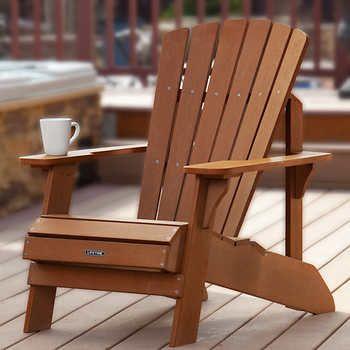 Lifetime Adirondack Chair Costco 129 99 Wood