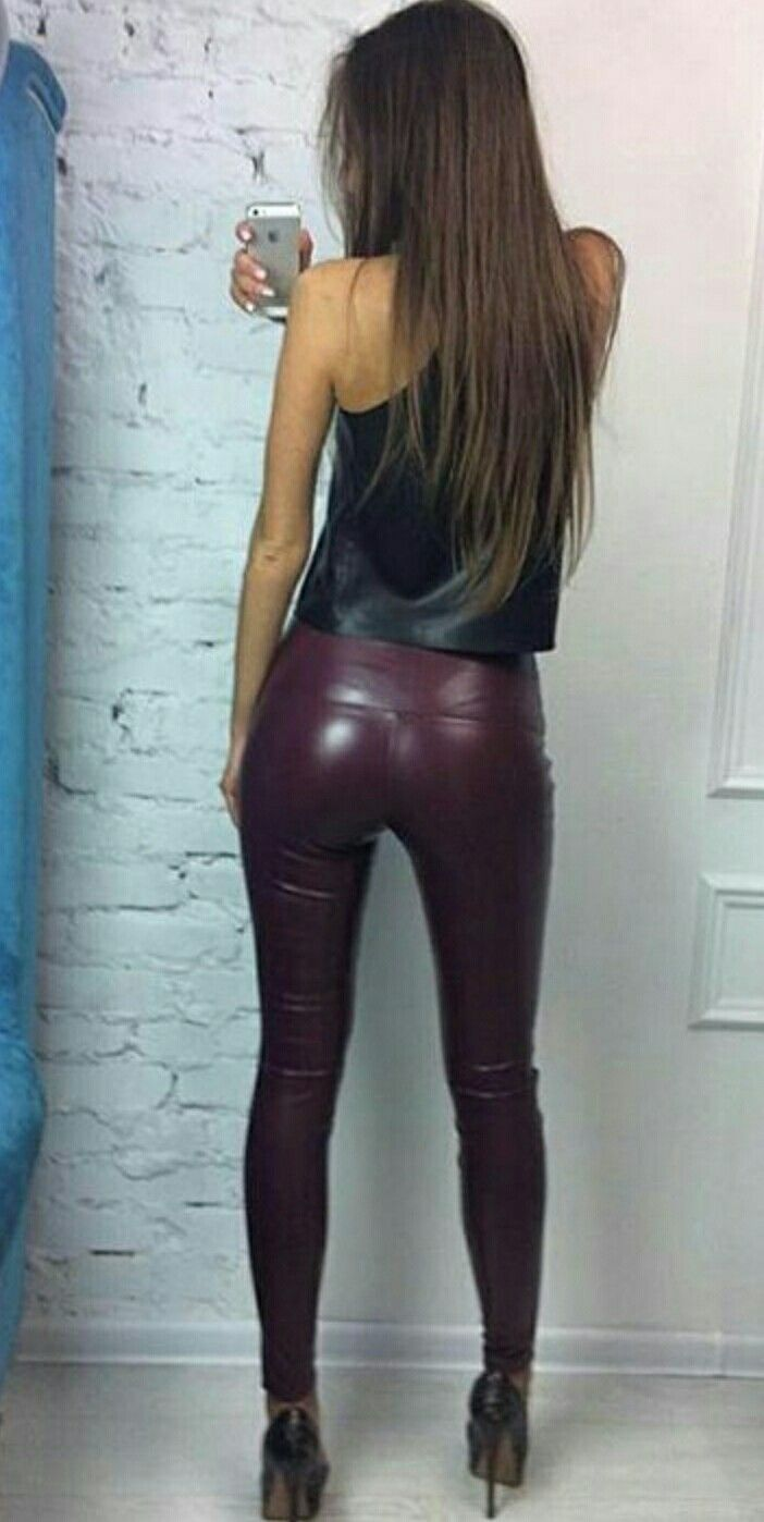 tight shiny pants porn