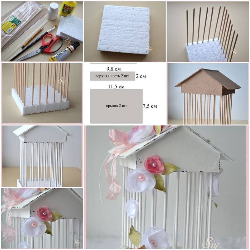 How To Make Decorative Cage Step By DIY Tutorial Instructions