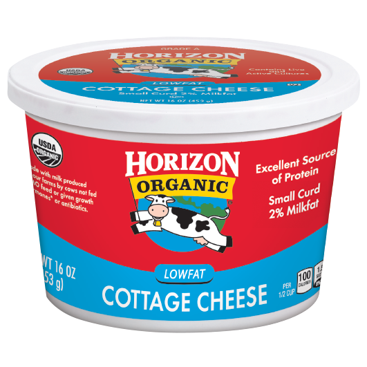 Horizon's Organic Low-Fat Cottage Cheese