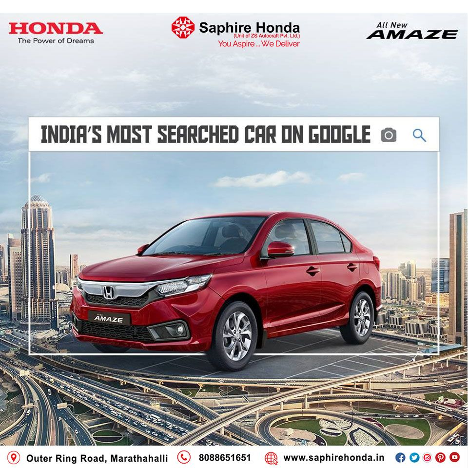 Another BIG news! The AllNew Honda Amaze is now the most