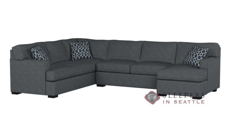 The Stanton 146 U Shape Sectional Queen Sleeper Sofa With Images Sectional Sleeper Sofa Sectional Sleeper Sofa