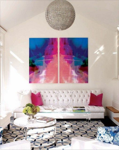 Guest post}: Light it up! | Large scale art, Scale art and White rooms