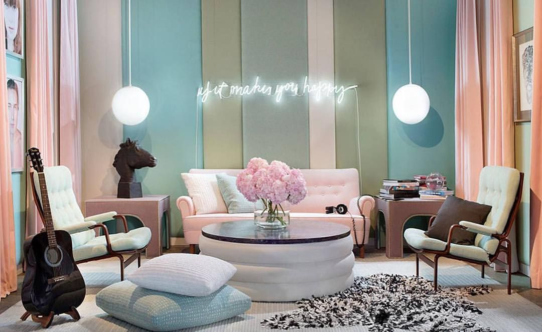 Happy Monday! Fabulous pink Carl Mamsten sofa and pair of Bruno Mathsson chairs on sale 30% off toda - bjorkstudio