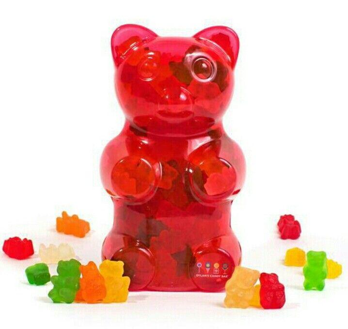 Gummy container