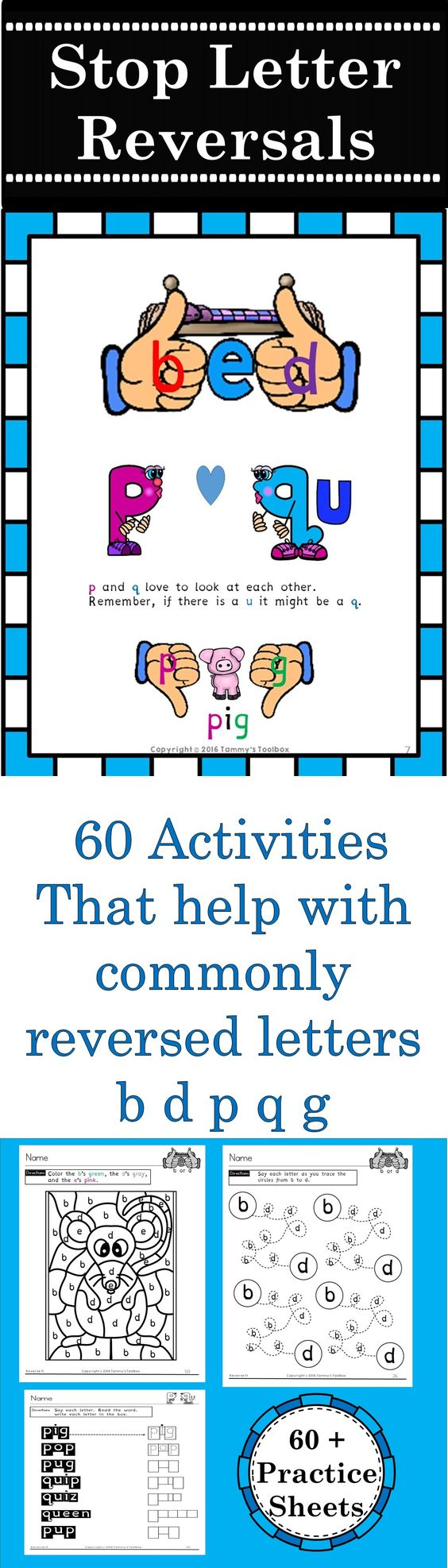 reverse it over 60 printable activities to help students with dyslexia overcome letter. Black Bedroom Furniture Sets. Home Design Ideas