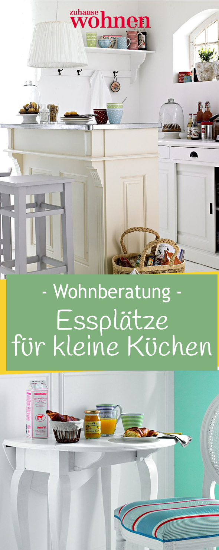Essplätze für kleine Küchen | Wohnen auf kleinem Raum | Pinterest ...