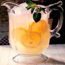 Recipe: ReaLemon Lemonade Chart (1 cup to gallons), Sparkling Lemonade, Slushy Lemonade (1980's) - Recipelink.com #sparklinglemonade