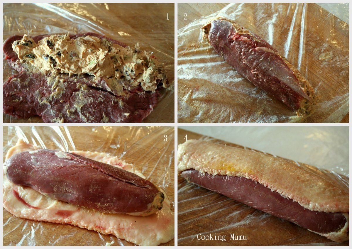 Magret Canard Foie Gras Four farcir et rouler | magret de canard, ballotine, foie gras