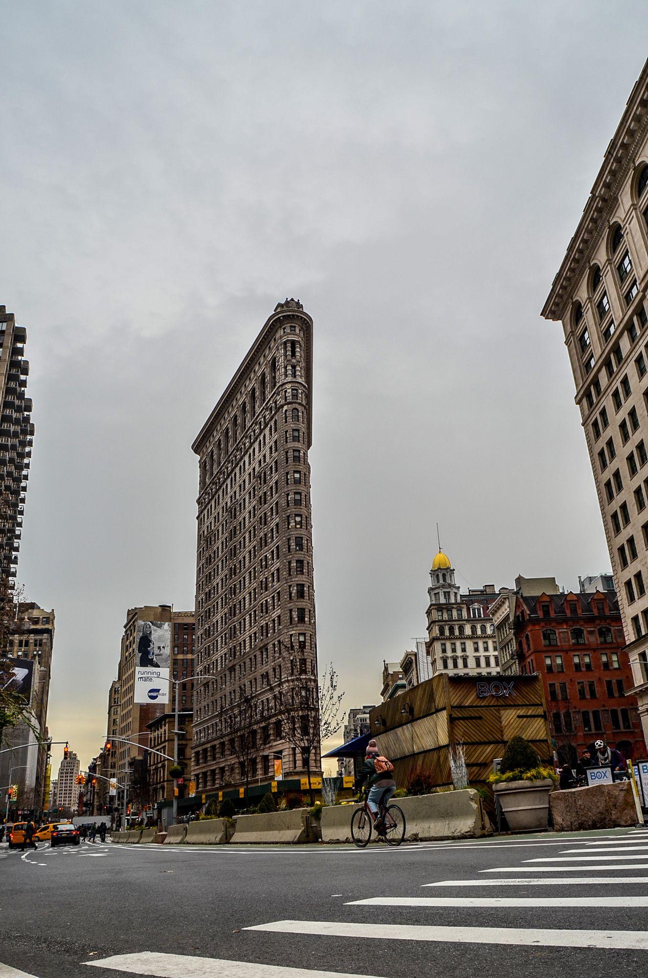 Flatiron Buiding, Ruta andando por Manhattan (Nueva York)