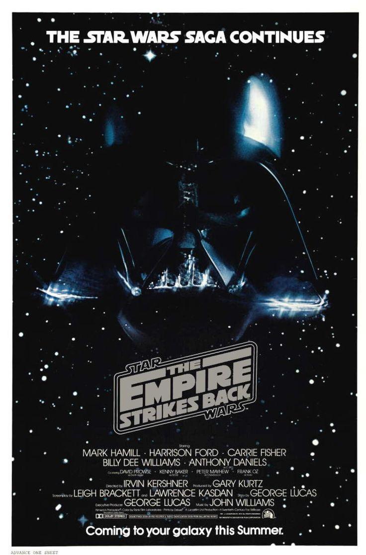 """Star Wars Episode V - The Empire Strikes Back (""""Guerra Nas Estrelas - O Império Contra Ataca"""" in Brasil)"""