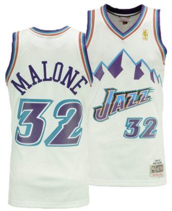 3d96a9bdd Mitchell   Ness Big Boys Karl Malone Utah Jazz Hardwood Classic Swingman  Jersey - White