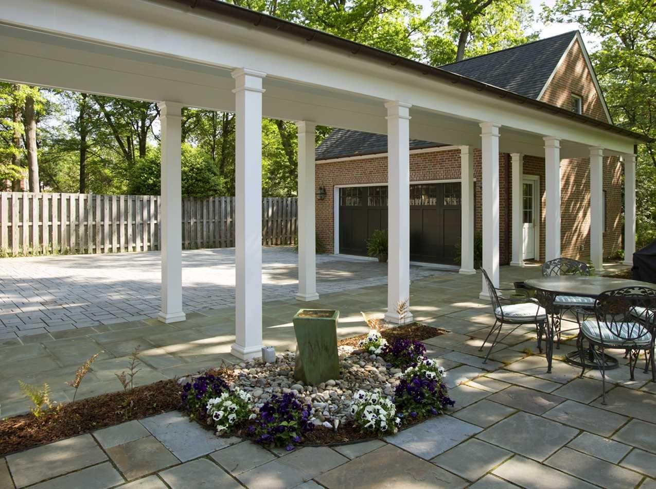 Additions Harry Braswell Inc Farmhouse Exterior Garage House Plans Pole Barn House Plans