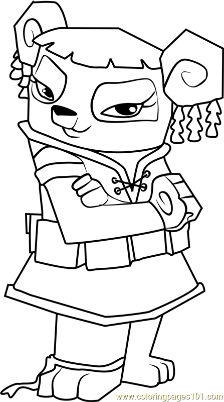 Image Result For Animal Jam Coloring Pages Liza