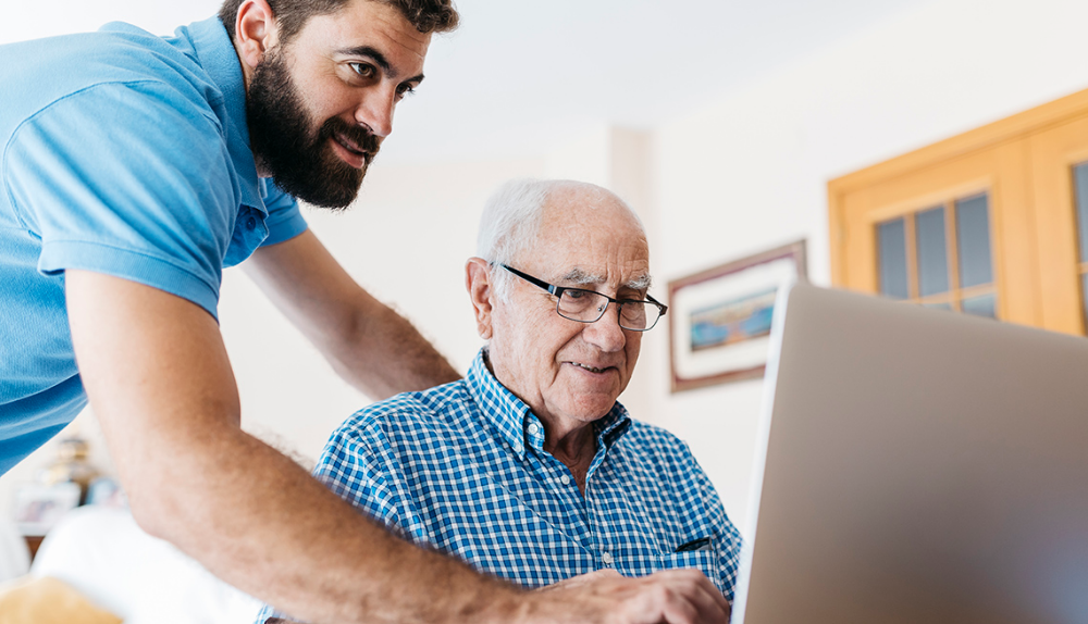 Helping Older Family Members Use Digital Devices Older