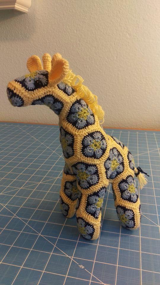 Winzig kleine afrikanische Blume Giraffe von TheTangledGiraffe ...