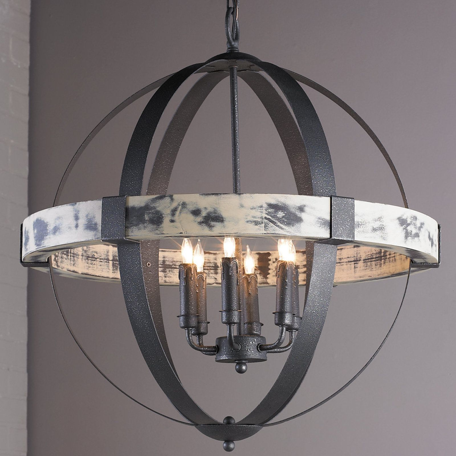 12 Different Chandelier Styles And Shapes Globe Chandelier Iron