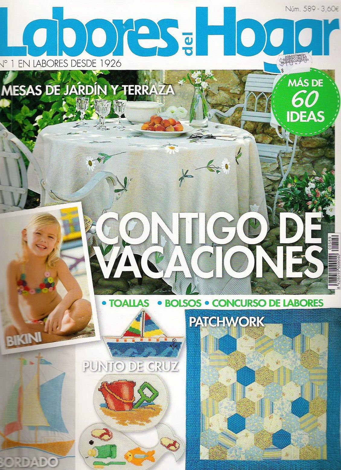 Labores De Hogar Labores Del Hogar 589 2008 Embroidery And Quilt Craft