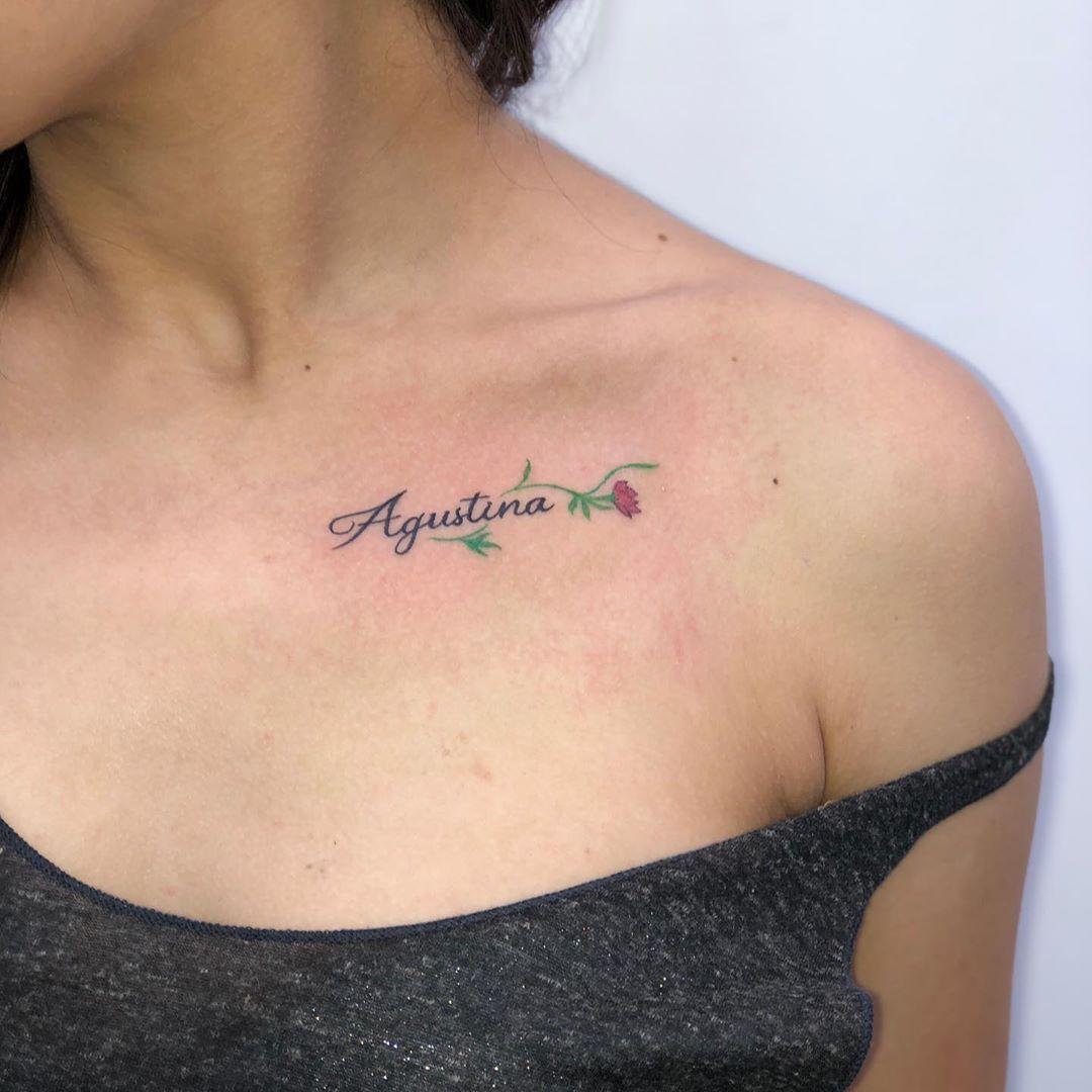 Ese amor de hija es   Agustina  By @bolotattoo  AT @picasso.tattoos
