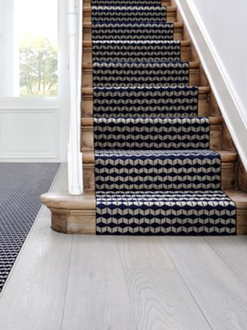 escalier interieur tapis