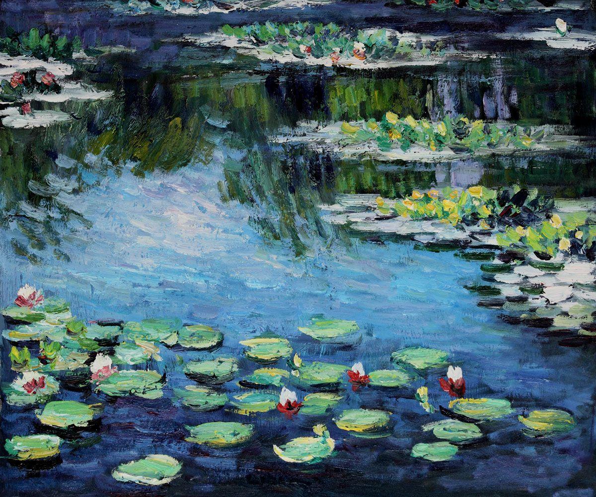 16+ Monet Water Garden Painting