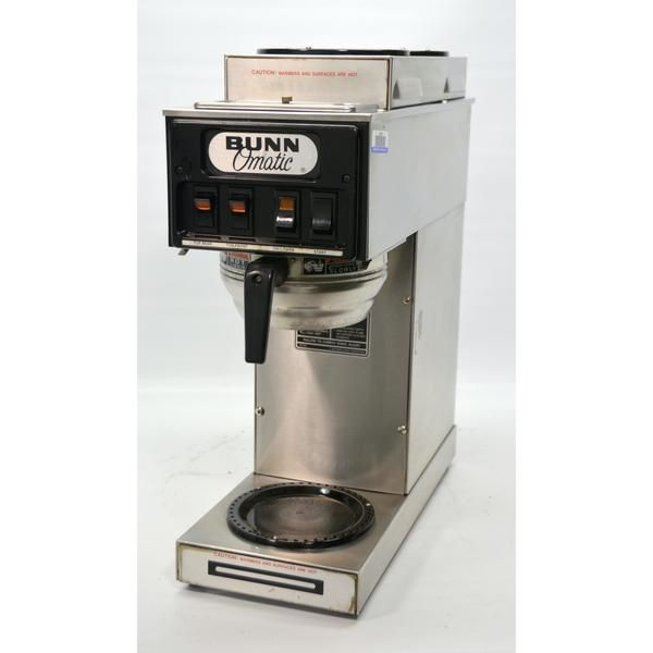 Used Bunn St 15 Commercial Coffee Brewer Pourover Plumb In Machine 3 Warm Voltage Restaurant Supply Coffee Brewer Coffee Coffee Supplies