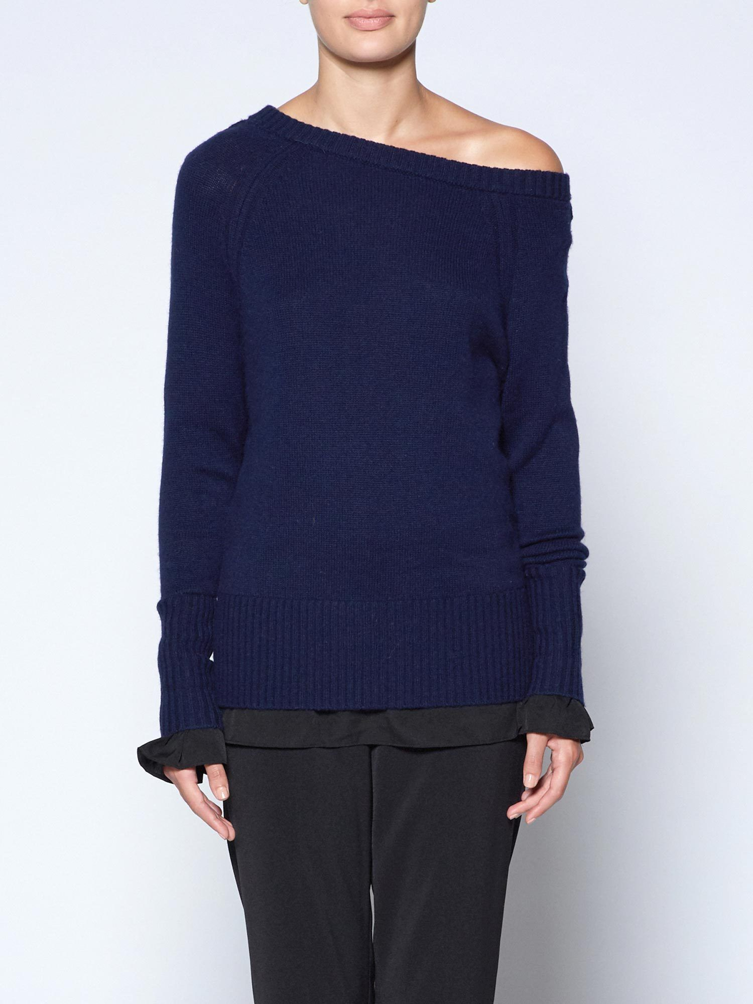 The Flores Layered Off-shoulder
