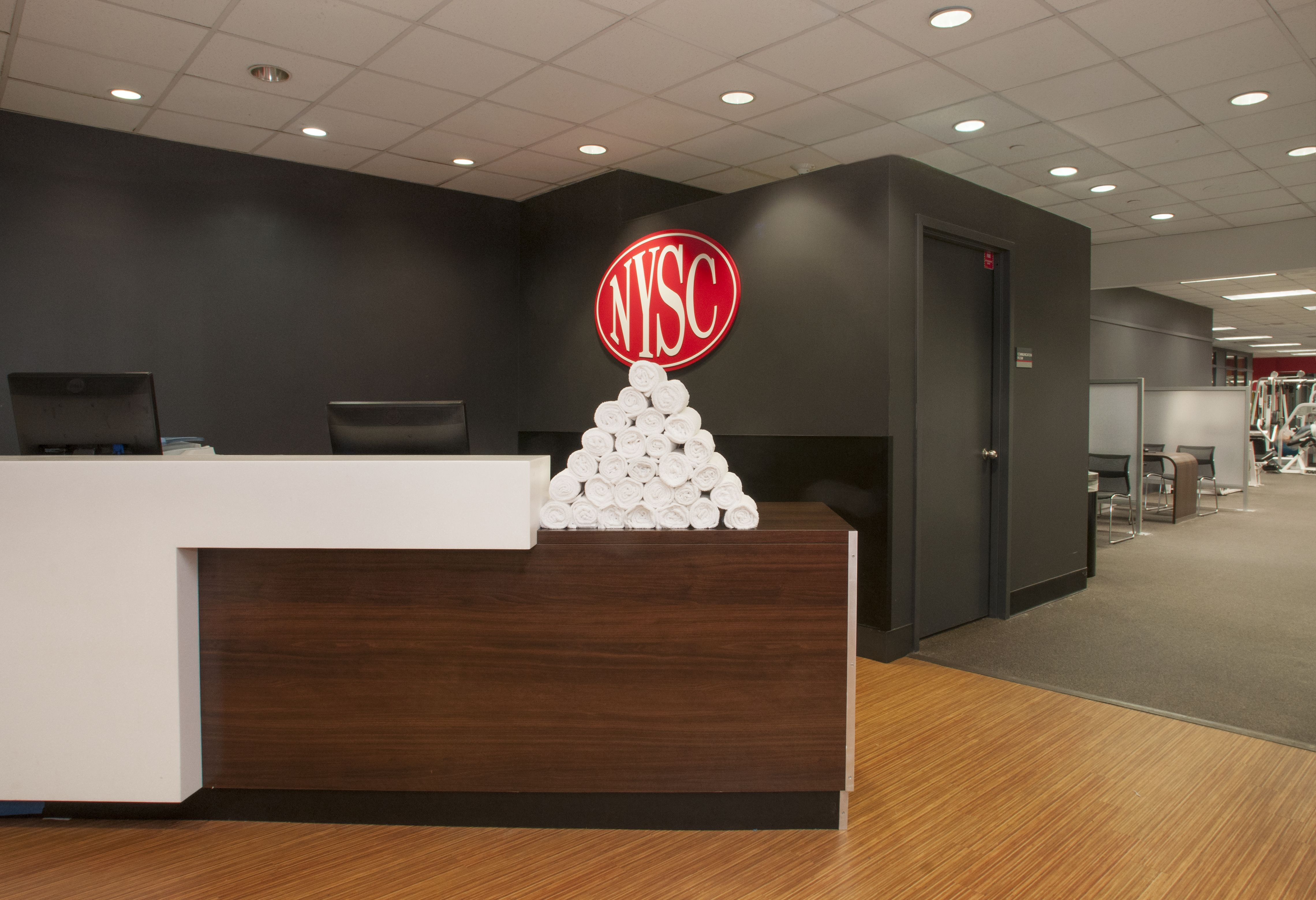 West End Towers New York Sports Club Locker Room -