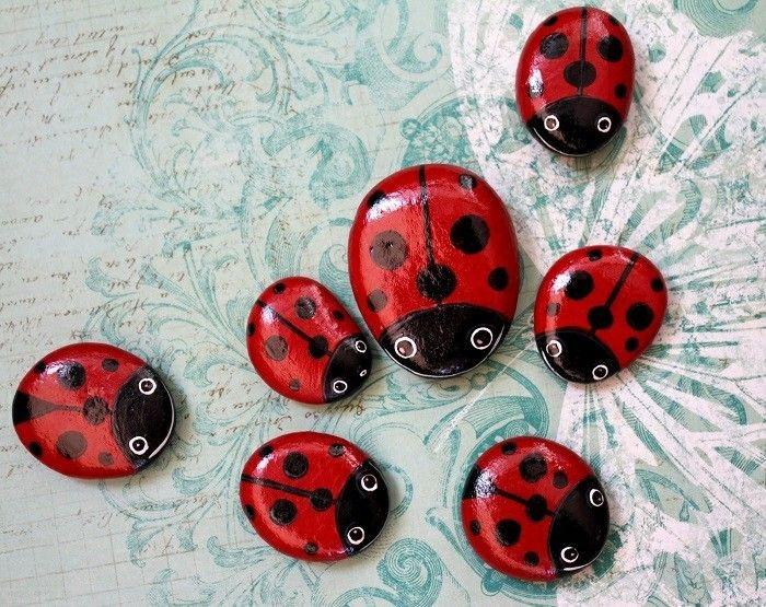 Steine bemalen: 101 Ideen für eine wunderschöne DIY Dekoration #steinebemalenkinder