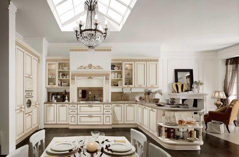 Cucine Classiche Bianche: una delle proposte Stosa http://www ...