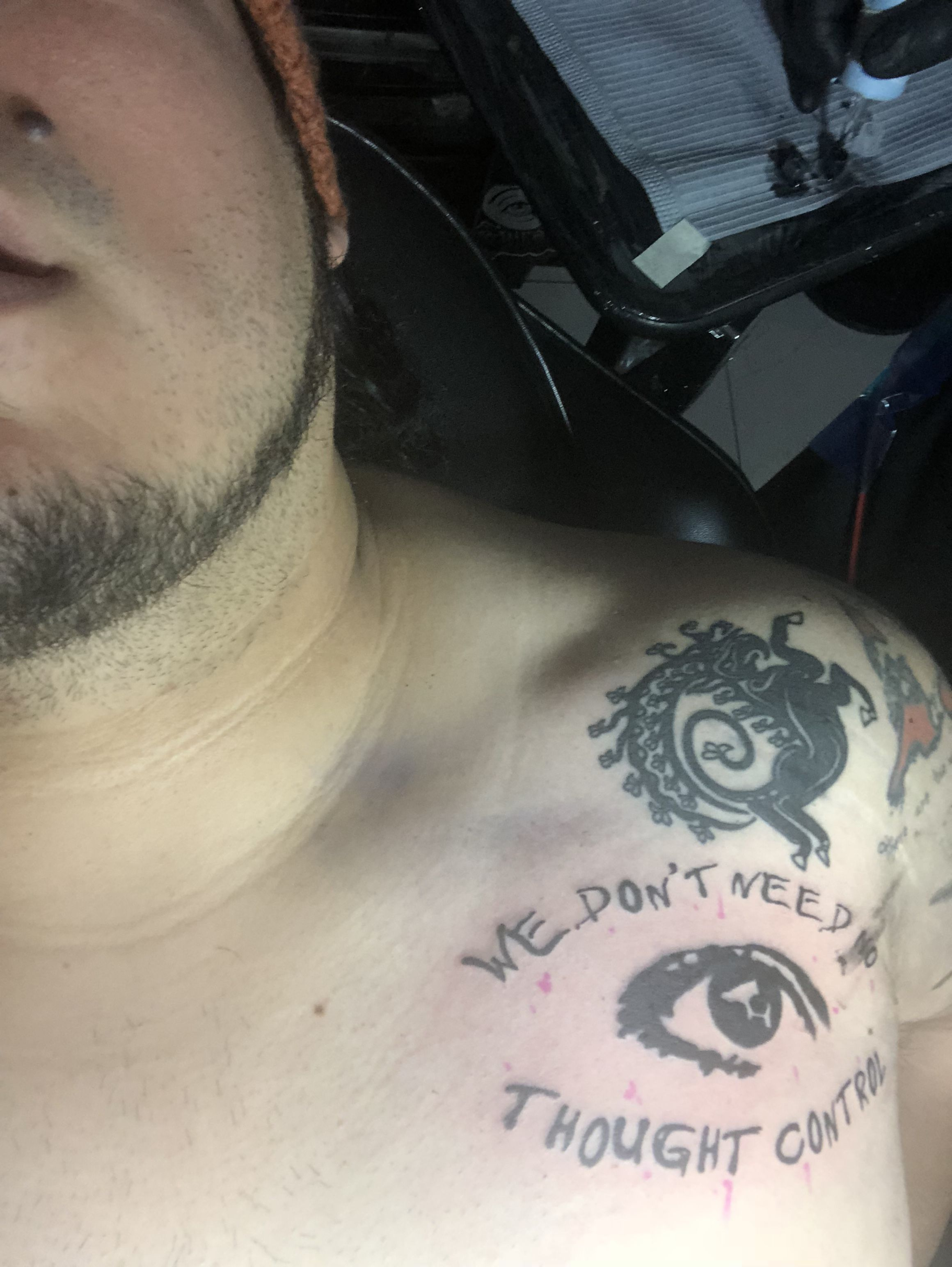 George Floyd Chest Tattoo: Big Brother Is Watching You