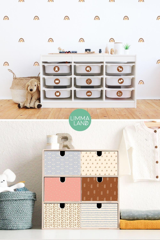 Designfolien für Wand und Möbel im