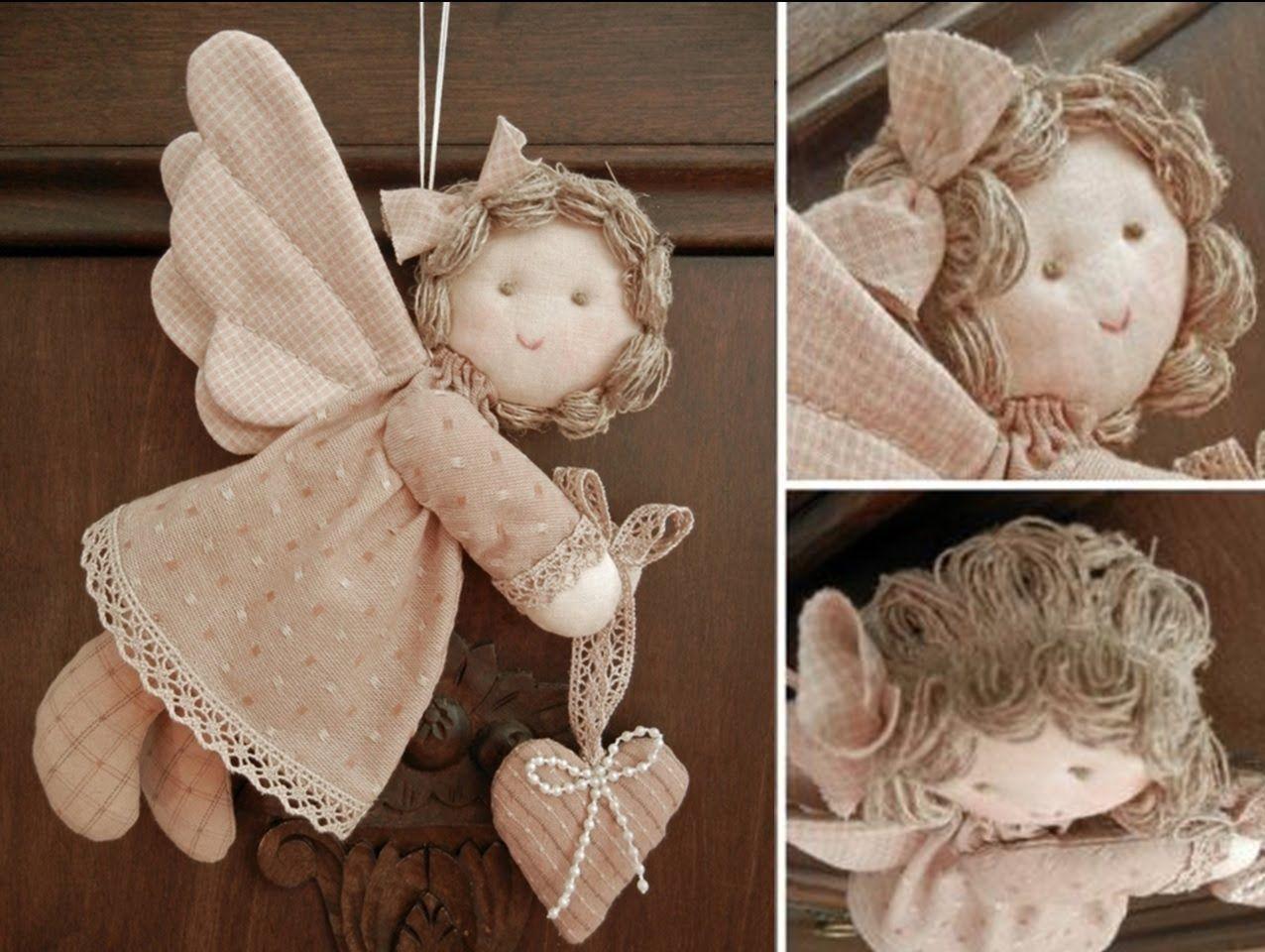 Ангелочки из ткани своими руками шаблоны фото 873