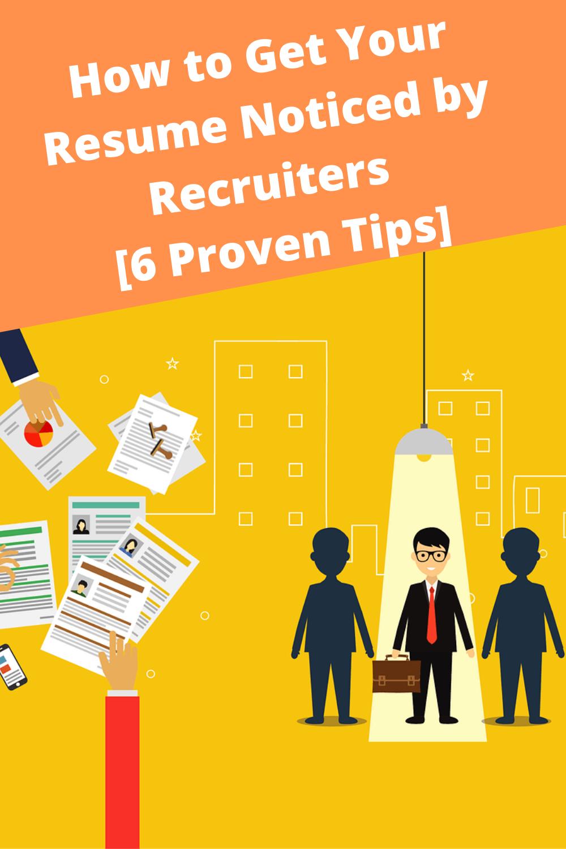 Google Recruiter Resume Tips