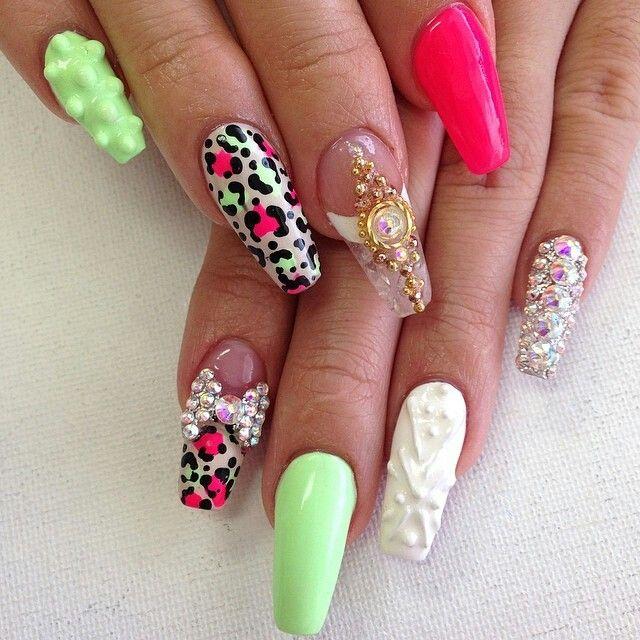 Nails By: Mz Tina   Fashion nails, Cute nails, Nail art