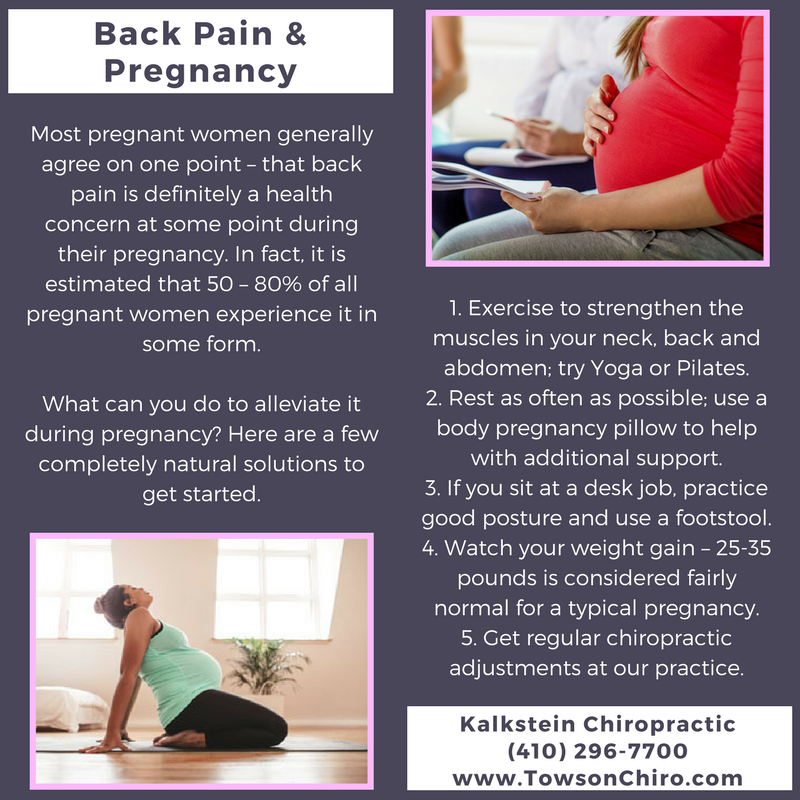 what causes back pain when you are pregnant