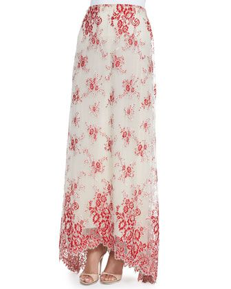 51de4b287531 Kira High-Low Organza Maxi Skirt by Alice + Olivia at Neiman Marcus ...
